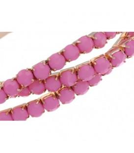 Roze armband.