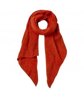 Oranje sjaal gemaakt van een comfortabele zachte stof