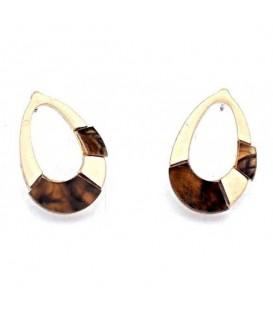 Trendy ovale oorbellen