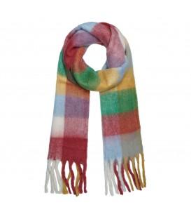 Gekleurde zachte sjaal