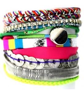 Gekleurde armbanden, Armbanden, Armbanden Overige kleuren kopen, Overige kleuren Armbanden online kopen, fashion Armbanden, T