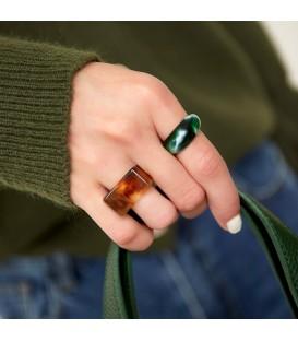 groene polyhars ring vierkant (17)