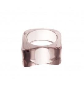 grijze polyhars ring vierkant (17)