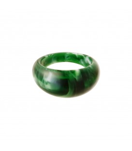 groene polyhars ring rond (17)